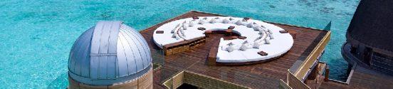 osserva le stelle alle maldive